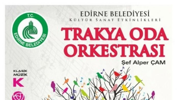 Trakya Oda Orkestrası'ndan Konser