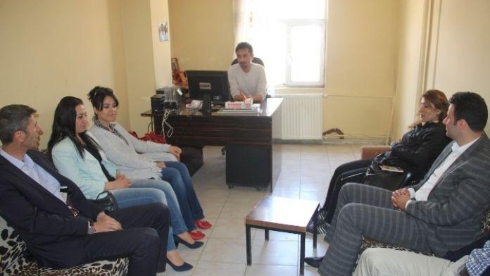 HDP'den Basın Mensuplarına Ziyaret