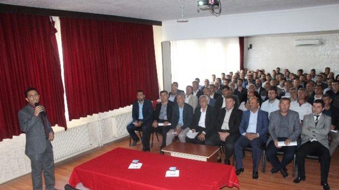 Sason'da 'Genç Çiftçi Projesi' Tanıtıldı