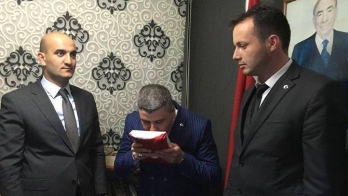 Ülkü Ocakları Bolu İl Başkanı Görevini Devretti