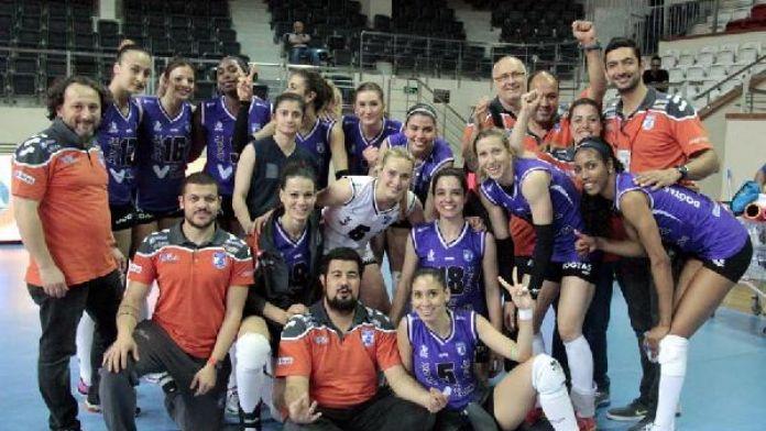 Çanakkale Belediyespor Balkan Kupası'na katılma hakkı kazandı