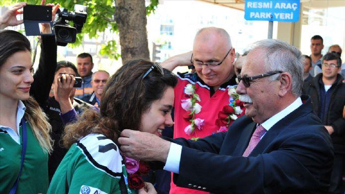 Çanakkale Belediyespor'da Avrupa sevinci