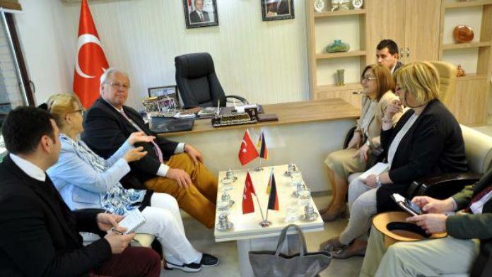 Gaziantep'e, Merkel'den önce Almanya Büyükelçi Erdmann geldi