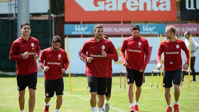 Galatasaray'ın Kasımpaşa mesaisi sürüyor