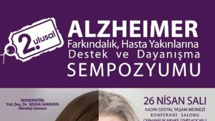 'Alzheimer Sempozyumu' İzmit'te Gerçekleşecek