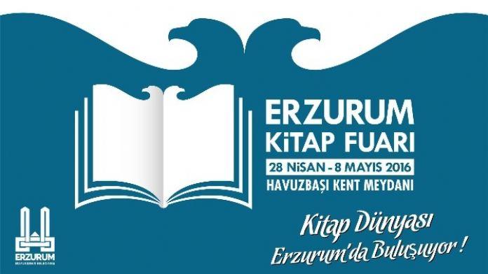 Ünlü Yazarlar Ve Yayın Evleri Erzurum Kitap Fuarı'nda Buluşuyor