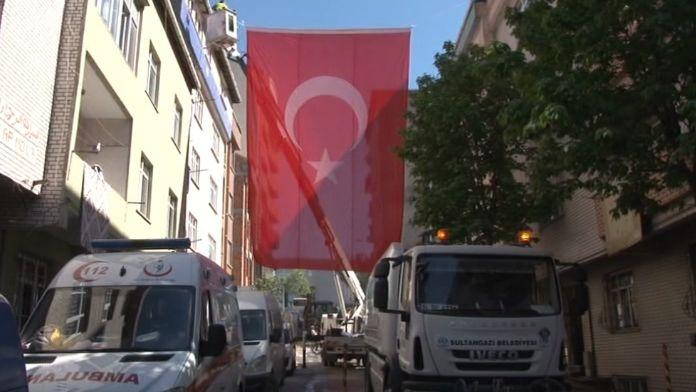 Şehidin İstanbul'daki baba evine acı haber ulaştı