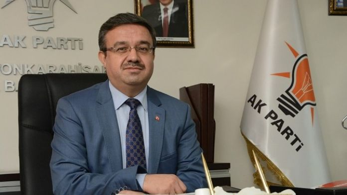 AK Parti İl Başkanı İbrahim Yurdunuseven'den 23 Nisan Kutlama Mesajı