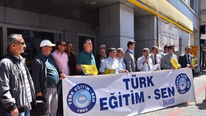 Türk Eğitim Sen,Talep Listesini Başbakanlığa İletti