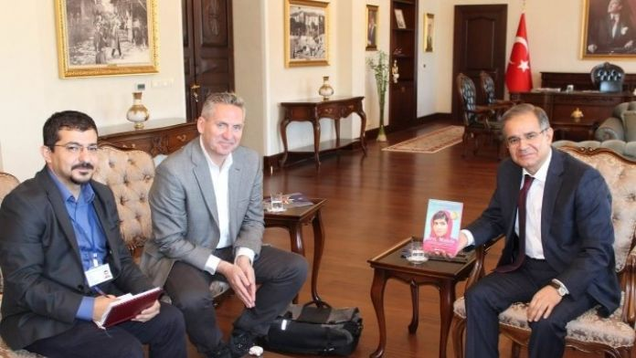 Malala Vakfı Temsilcisi Kilis'te