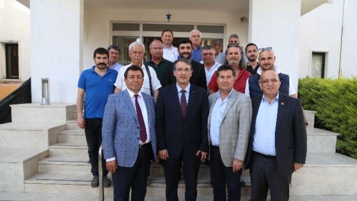 İrgil'den Başkan Kocadon'a Ziyaret