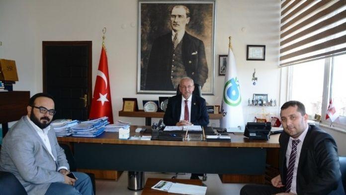 Star Medica Hastanesi Yöneticilerinden Başkan Albayrak'a Ziyaret