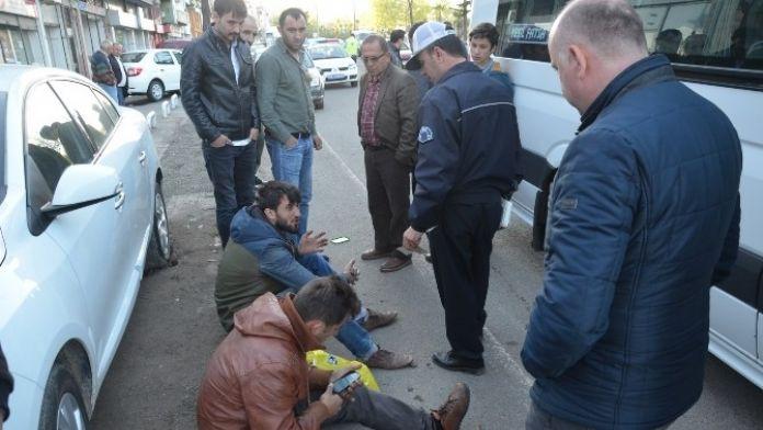 Fatsa'da Motosiklet Kazası: 2 Yaralı