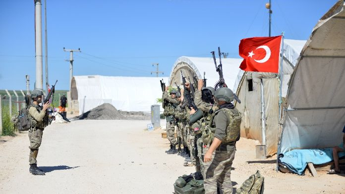 Mehmetçik Nusaybin'de göreve böyle çıkıyor