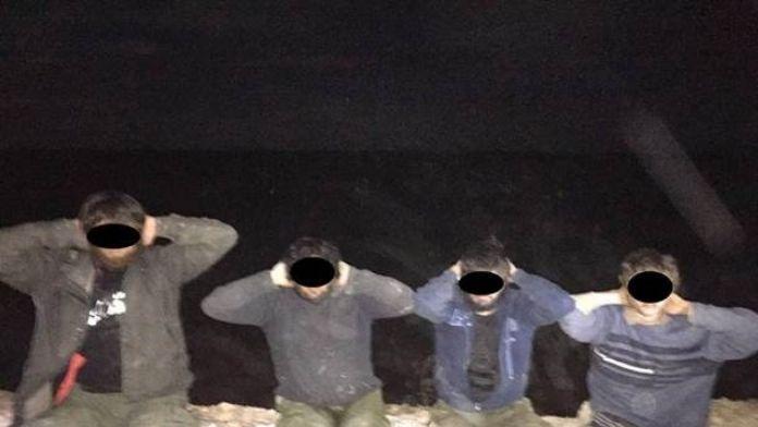 Türkiye'ye sızmaya çalışan 8 DEAŞ'lı yakalandı