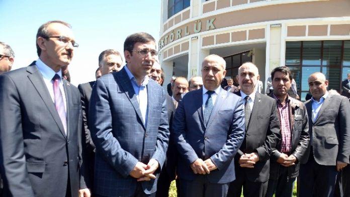 Kalkınma Bakanı Yılmaz, Terörle Mücadeleyi Değerlendirdi