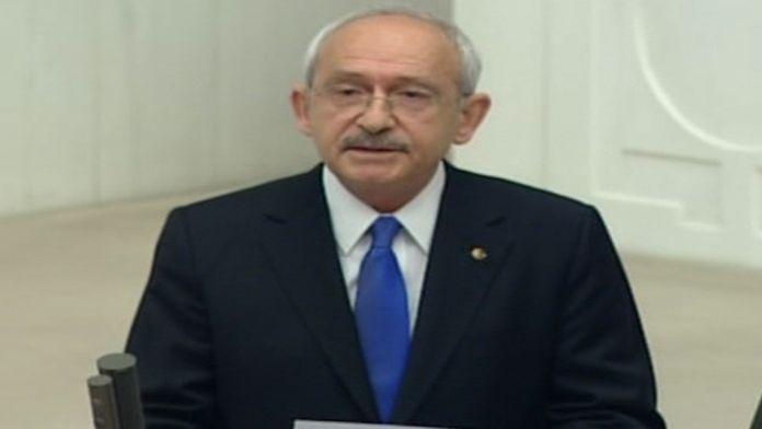 Kılıçdaroğlu Meclis'te konuştu