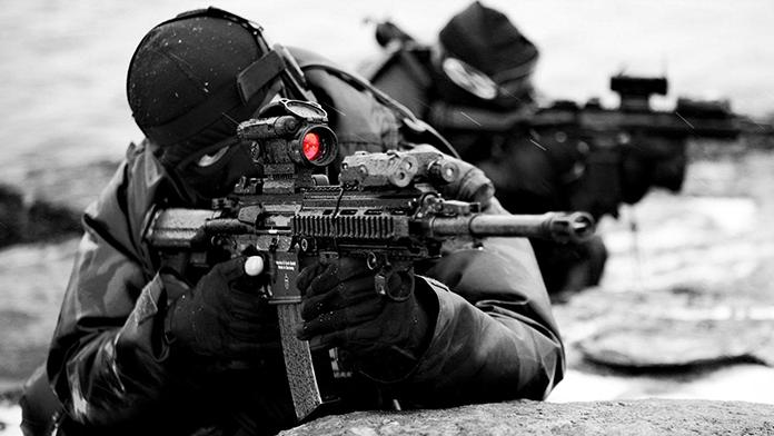Şırnak'ta Teröristlerle Çatışma Anı Kameraya Yansıdı