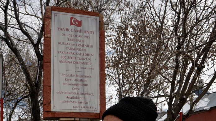 'Ardahan'daki Ermeni mezalimi ortaya çıkarılsın'