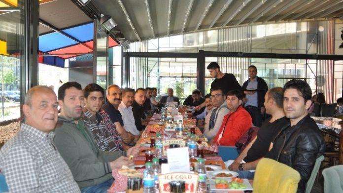 Birlik Haber-sen Üyeleri Kahvaltıda Buluştu