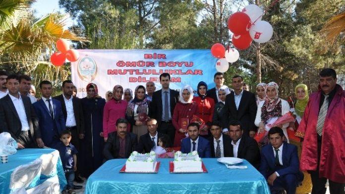 Bozova Kaymakamlığı'ndan Toplu Nikah Töreni