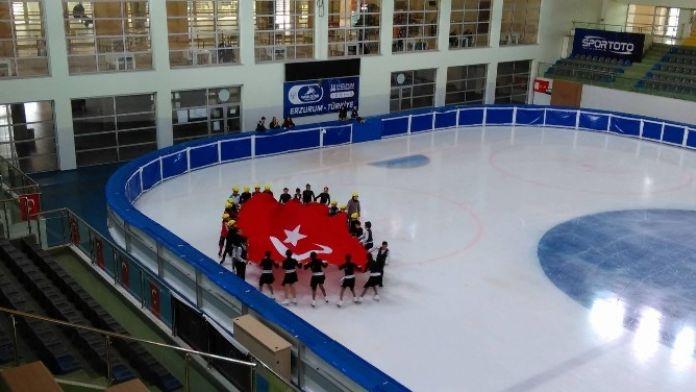 Erzurum'un En Hızlıları Nefes Kesti!