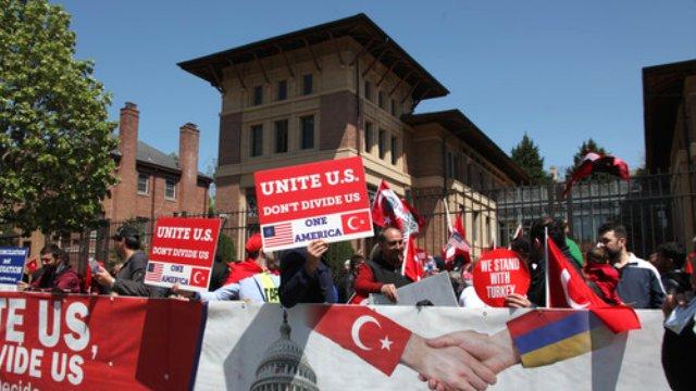 Washington'da barış ve dayanışma yürüyüşü