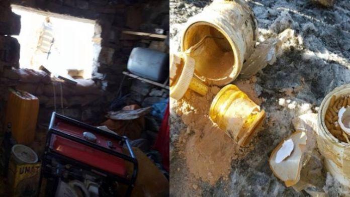 PKK'nın mayın fabrikası imha edildi