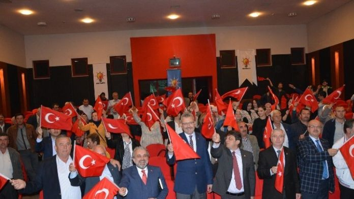Karacabey Teşkilatı Büyük Türkiye İçin Toplandı