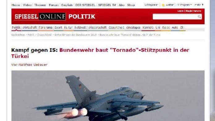 Spiegel'den Türkiye'de Alman Üssü iddiası