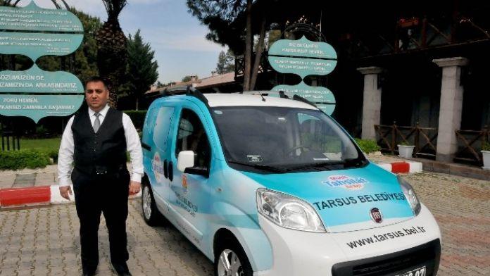 Tarsus Belediyesi Yeni Hizmet Aracını Görücüye Çıkarttı