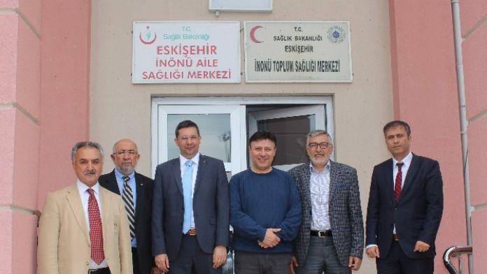 Kaymakam Özderin'den Toplum Sağlığı Merkezi'ne Ziyaret