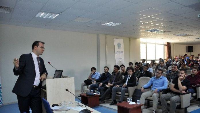 2016'da Yasama Seminerlerinin İlki NEÜ'de Yapıldı