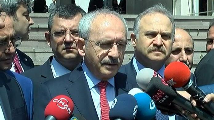Erdoğan'ın elini sıkmamasına Kılıçdaroğlu çok içerlemiş