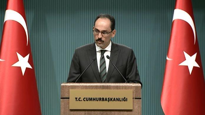 İbrahim Kalın'dan ABD ve AB'ye 'PKK' uyarısı