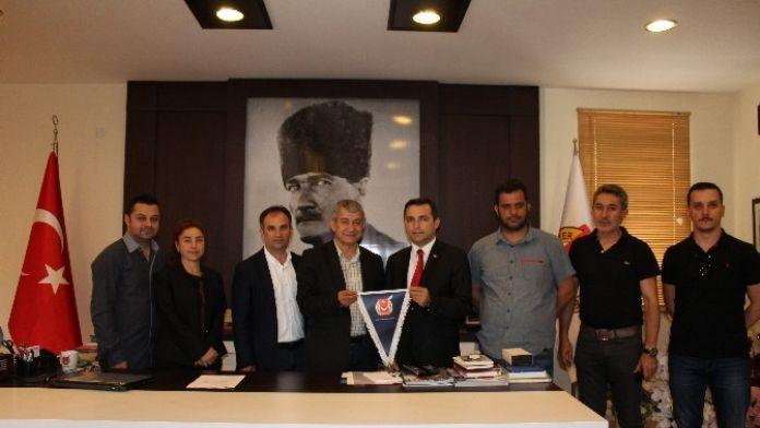 CHP'li Kara'dan Agc Ziyareti
