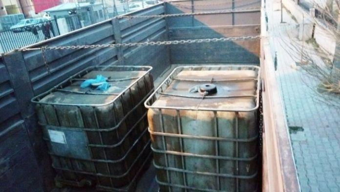 Van'da Akaryakıt Kaçakçılığı