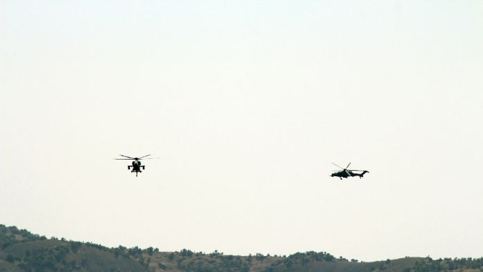 TSK 'Atak'la vurdu: 5 terörist öldürüldü