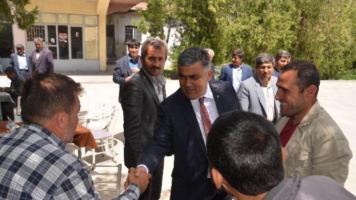 Başkan'dan Kutören Ve Belkaya'ya Ziyaret