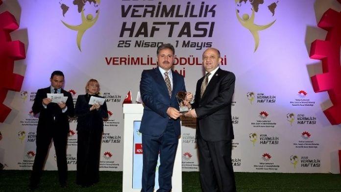 Malatya Büyükşehir Belediyesi, Teşvik Ödülü Aldı