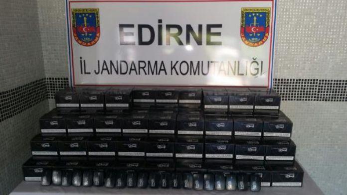 Keşan'da kaçak 3 bin elektronik sigara ele geçirildi
