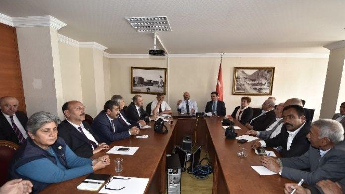 Ankara Büyükşehir'in Muhtar Dernekleriyle Toplantısı
