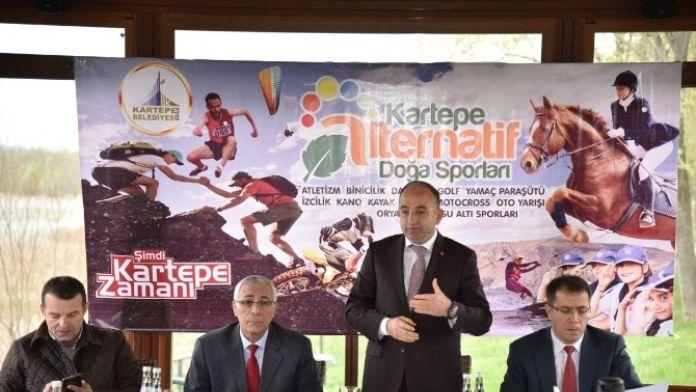 Kartepe'de İlk Kez Doğa Sporları Turizm Çalıştayı