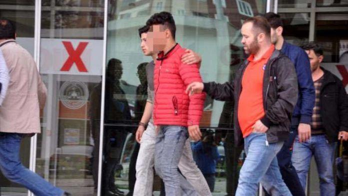 Trabzon'da hakem döven genç taraftar serbest bırakıldı (4)