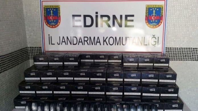 Edirne'de 3 Bin Adet Kaçak Elektronik Sigara Ele Geçirildi