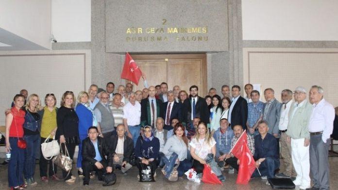 AK Parti Karşıyaka İlçe Binasına SES Bombası Konulması Davası