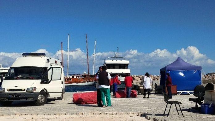 Beş Sığınmacı Sakız'dan Çeşme'ye Geldi