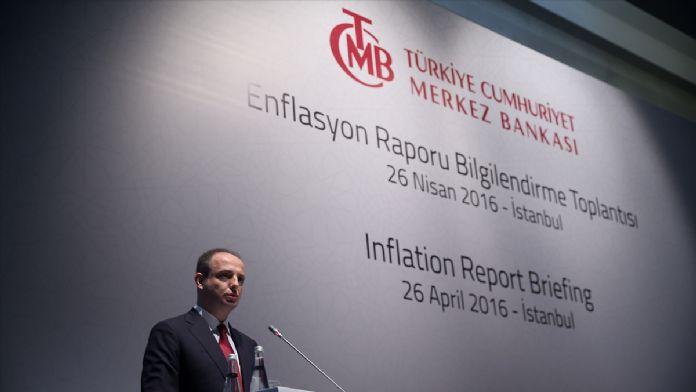 Merkez Bankası Başkanı Çetinkaya Enflasyon Raporu'nu açıkladı