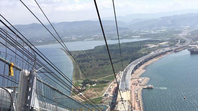 Osman Gazi Köprüsü'ne 'Hersek Lagünü' ayarı