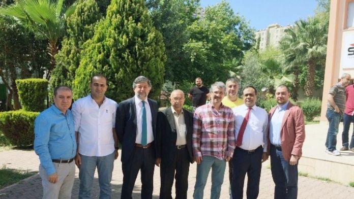 Cevheribucak'tan Adanaspor Başkanı Akgül'e Kutlama Ziyareti